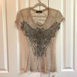 Angels & Diamonds sequin top